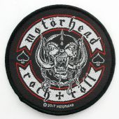 Motorhead - 'Rock + Roll' Woven Patch